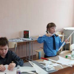 Наши кадеты поучаствовали в конкурсе-выставке по моделированию