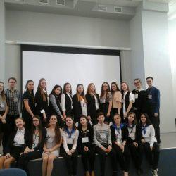 В нашей школе прошел 2-й тур конкурса по моделям ученического самоуправления
