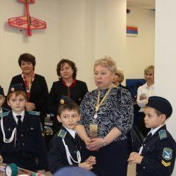 Министр образования пообщалась с кадетами нашей школы