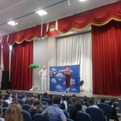 """Ученикам нашей школы поставили """"театральную"""" прививку"""