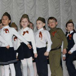 Смотр солдатской песни на Макеева