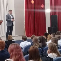 Константин Захаров в нашей школе