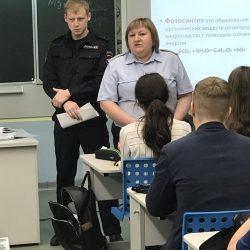 Инспекторы ОДН поговорили со старшеклассниками об ответственности за правонарушения