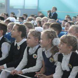 На Макеева прошло посвящение в первоклассники