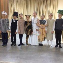 Проведён благотворительный спектакль в детском доме