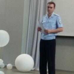 На Сахарова прошел круглый стол по безопасности для солнцеградцев