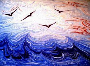 Эбру, или рисунок на воде
