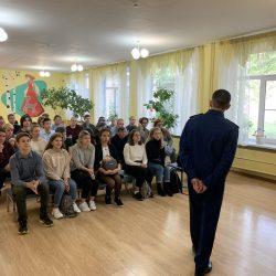 Прокуратура Центрального района г. Челябинска регулярно проводит встречи со школьниками и родителями в целях повышения уровня их правовой грамотности
