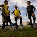 На базе нашего лицея проводится Кубок первоклассников по футболу