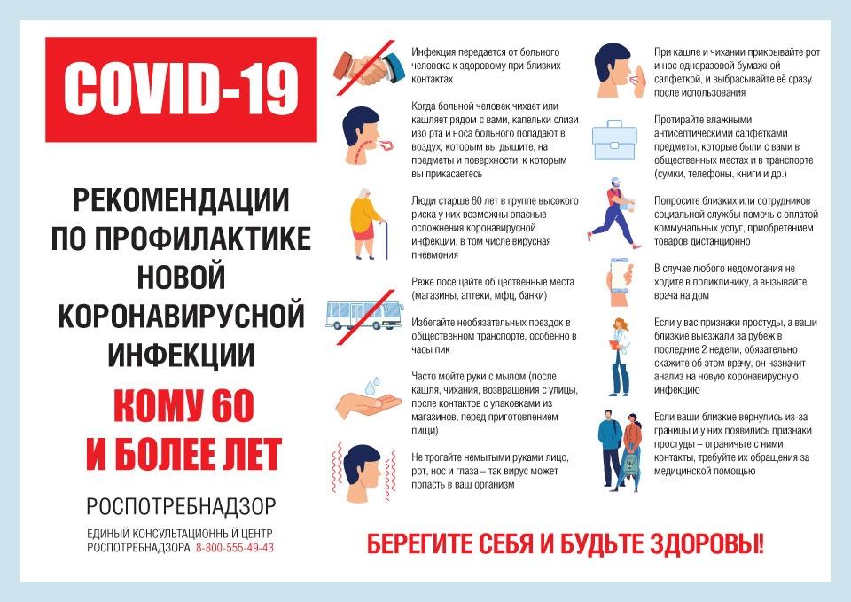 Внимание! Познакомьтесь с рекомендациями по профилактике коронавирусной инфекции