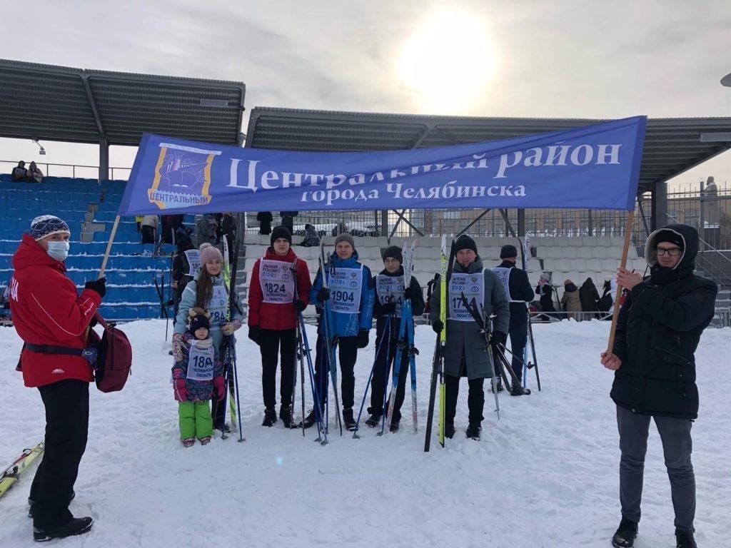 """Мы на """"Лыжне России"""""""
