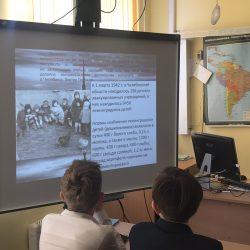 О юных героях Великой Победы беседовали в нашем лицее