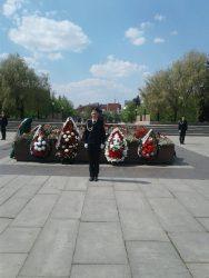 Наши кадеты с Сахарова приняли участие в Вахте памяти-2021