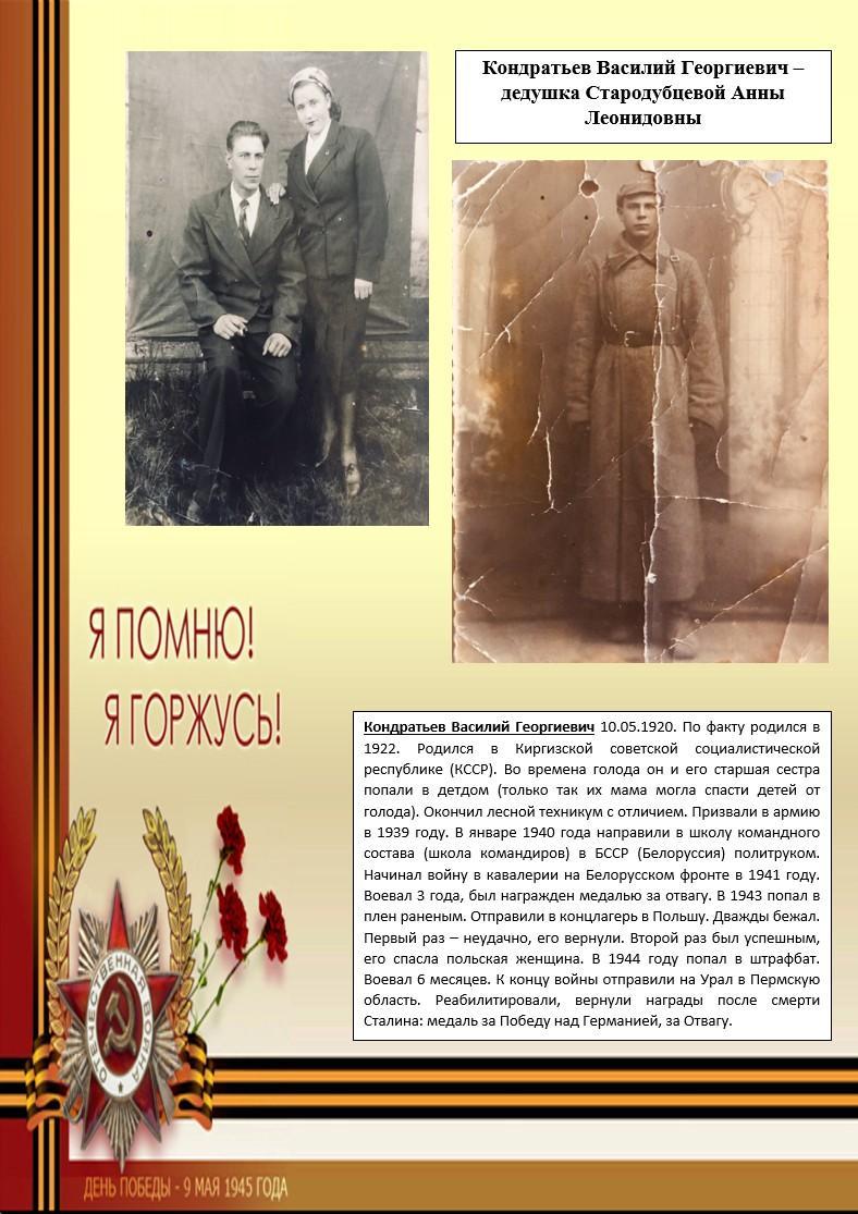 Кондратьев В.Г.